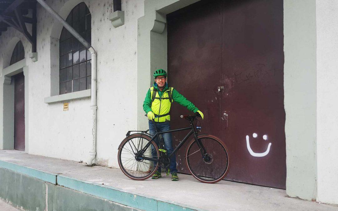 Weitere Fahrradstellplätze am Bahnhof