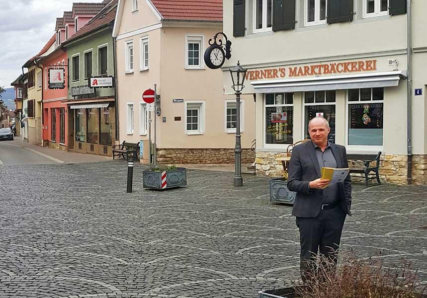 Den Marktplatz imBlick